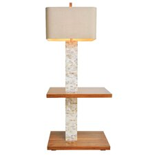 "Roxbury 60"" H Table Lamp with Rectangle Shade"