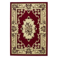 Marakesh Red / Beige Rug
