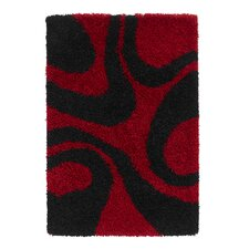 Vista Red/Black Turkey Rug