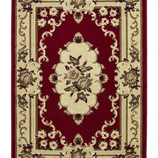Marakesh Red/Beige Rug