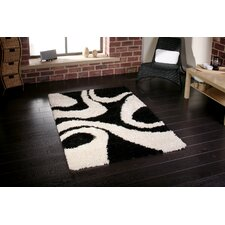 Vista Black/White Turkey Rug