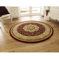 Heritage Red Hand Carved Rug