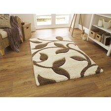 Fashion Carving Ivory/Beige Hand Carved Rug