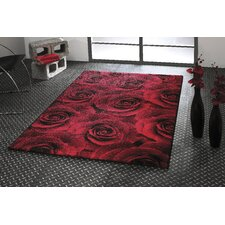 <strong>Think Rugs</strong> Art Twist Rose Hand Carved Rug