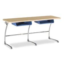 "Zuma Wood 27"" 2-Student Desk"