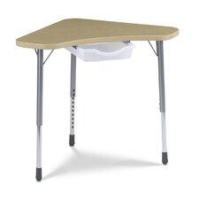 Zuma Hard Plastic Student Desk