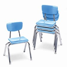"3000 Series 14"" Plastic Classroom Stackable Chair"