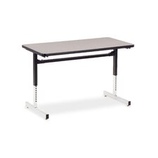 "8700 Series Computer Table with 24"" x 48"" Top"