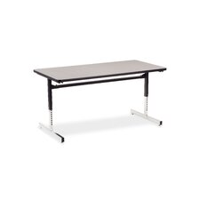 "8700 Series Computer Table with 30"" x 60"" Top"