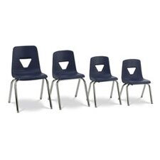 "2000 Series 16.25"" Polypropylene Classroom Stacking Chair"