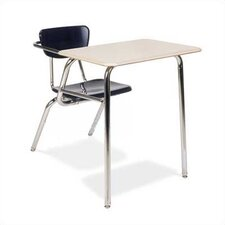 "3000 Series 29"" Plastic Chair Desk"