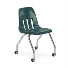 "9000 Series 18"" Plastic Classroom Mobile Chair"