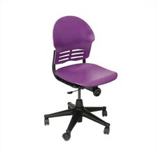 "Ph.D. Series 21.5"" Plastic Classroom Armless Standard Chair"