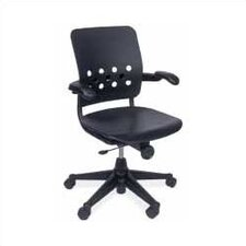 <strong>Virco</strong> Ph.D. Mid-Back Plastic Executive Chair
