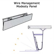 "Plateau Series 72"" Wire Management/Modesty Panel"