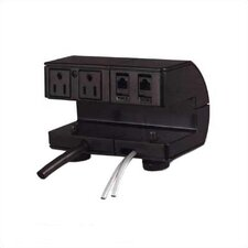 Plateau Series Power/Communication Outlet