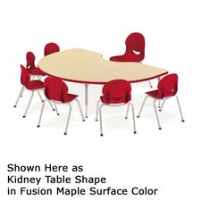 4000 Series Horseshoe Activity Table with Short Legs