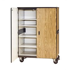 2500 Series Mobile Cabinet with Four Adjustable Shelves