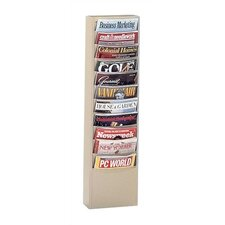 Library Literature Rack, 11 pockets