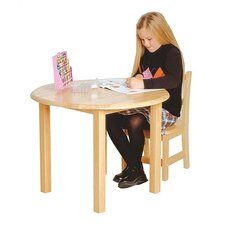 Children's Hardwood Round Table