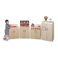 <strong>Virco</strong> 4 Piece Children's Kitchen Set