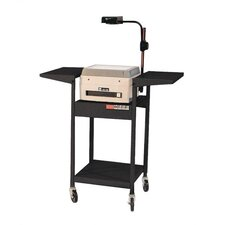 Adjustable Height Cart w/ Overhead, 2 Shelves