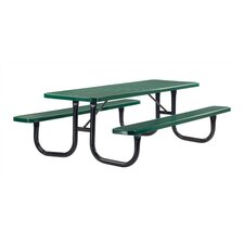 <strong>Virco</strong> Plastic Coated Picnic Table