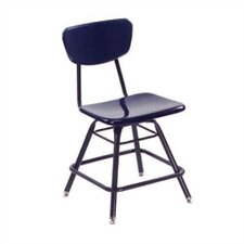 "3000 Series 18"" Plastic Classroom Glides Chair"