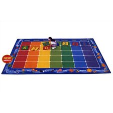 <strong>Virco</strong> Children's Calendar Kids Rug
