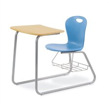 "<strong>Virco</strong> Zuma 33"" Plastic Chair Desk"