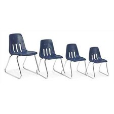 "9000 Series 18"" Plastic Classroom Glides Chair"