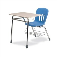 "Metaphor Series 18"" Plastic Classroom Chair and Desk"