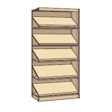 "Single-Faced Library Periodical Shelving Addition (82"" x 37"")"