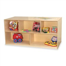 "Early Childhood 5 Compartment Mobile Storage Unit (24"" H)"