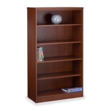 "66"" H Five-Shelf Bookcase"