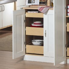 "<strong>AkadaHOME</strong> 37"" Kitchen Pantry"