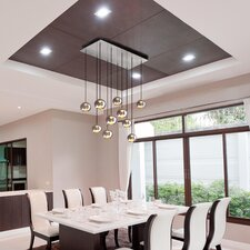 Kubric 10 Light Kitchen Island Pendant