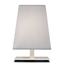 "Quadra Kensington12"" H Table Lamp with Rectangle Shade"