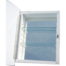 "Raised Panel 16"" x 20"" Recessed Medicine Cabinet"