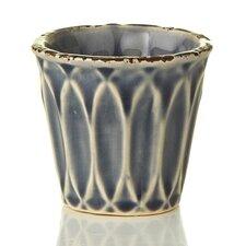 French Market Decorative Ceramic Glazed Container (Set of 6)