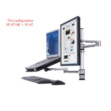 Visidec Notebook and Monitor Arm Combo