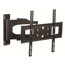 "Telehook Full Motion Tilt/Articulating Arm Wall Mount for up to 21"" Screens"