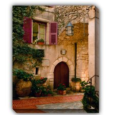 Hostellerie Photographic Print on Canvas