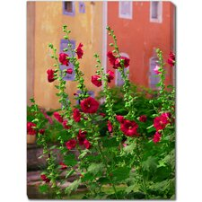 <strong>West of the Wind Outdoor Canvas Art</strong> Les Flour Rouge Outdoor Canvas Art