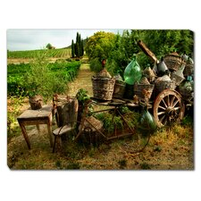 Old Tuscany Photographic Print on Canvas