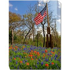 <strong>West of the Wind Outdoor Canvas Art</strong> Country Pride Outdoor Canvas Art
