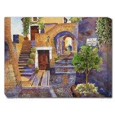 Via Ipolito Painting Print on Canvas