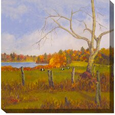 Just Grazing Painting Print on Canvas