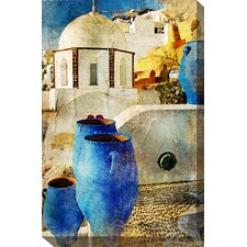 Aegean Urns Art Painting