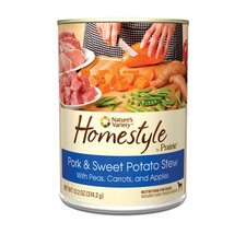 Prairie Homestyle Pork and Sweet Potato Stew Canned Dog Food (13.2-oz, case of 12)